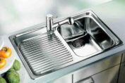 Limpiar acero sink