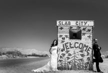 wedding in california / a wedding, a trip, california, desert, following into the wild