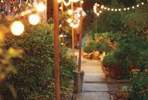 Lumière terrasse