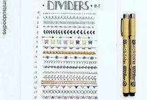 Borders - Dividers