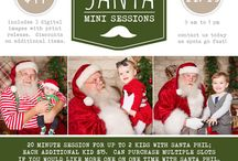 Santa Mini-Sessions / Wonderful Santa Phil will be visiting the studio for special Christmas photos with his favorite good little boys and girls.  Perfect for the littlest elves and their parents who prefer a personal Santa experience away from the crowds.