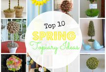 Spring / Get ideas for all things spring! Find craft and decor ideas, family activities, and non-holiday-specific spring fun!