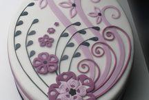 ovális torta
