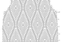 bluzki szydełko+druty