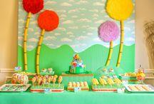 lorax birthday party