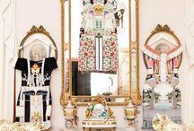 Glam Ambiance / Fancy &Glamour style, mirrors, chandeliers to glam up  home.Enjoy pining♡