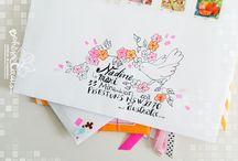 obálky...envelopes, postcards