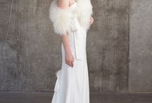 Wedding day warmth / wraps, shrugs, furs and capes fit for a bride