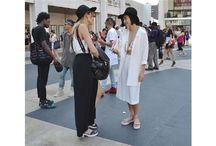 Street Style - NYFW Spring 2015 / Our fave looks, on the street, at New York Fashion Week - Spring 2015