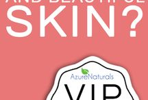 Giveaways and VIP Secrets Club / Azure Naturals loves to surprise you with great GIVEAWAYS!  Win amazing skincare now!