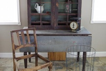 Primitive and shabby chic ideas / by Michelle Hickerson