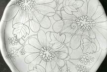 tekenen en porselein