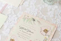 all things invitations / by Aimee Strickland