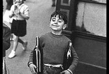 children black &white