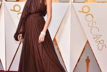 Oscar red carpets