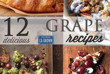 CA GROWN Grapes / California grape recipes, fun and facts! #CAGROWN