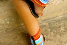 Masai Sandals / I am selling hand made beaded Sandals...