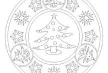 Karácsonyi színezők - Christmas coloring