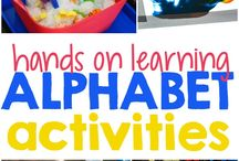Letter Recognition Activities / Fun Letter recognition activities for kids - great for preschool and kindergarten. Alphabet matching, capital and lowercase letters, and other fun letter recognition activities for kids.