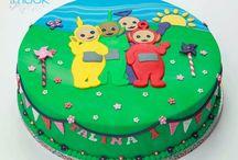 Cake teletubbie