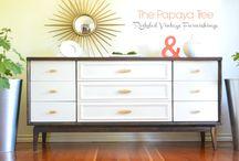 Gamle møbler blir nye