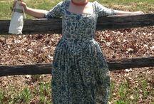 18stoleti dámské šaty