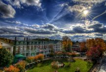 The Martha Washington Hotel and Spa  / Historic hotel nestled in the Rolling Hills of Southwest Virginia in the historic Town of Abingdon. You will find true Southern charm and hospitable service.
