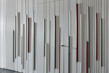 Entry walls / Timber walls