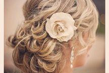WEDDING MAKEUP & HAIR / by Heather Jones