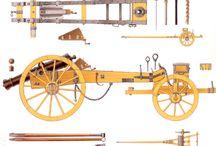 Rakouské dělostřelectvo-altillerie, napoleonské války