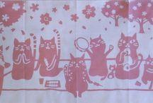 猫 招き猫 犬張り子