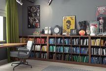 Książki/Book shelves / Budujesz, remontujesz, meblujesz. Potrzebujesz wsparcia? W tym katalogu znajdziesz pomysły dla swojego wnętrza. Ja pomogę Ci zamienić je w projekt, razem zrealizujemy wnętrze które sobie wymarzysz.  Tu mnie znajdziesz: www.enplan.pl