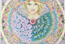 раскраски в цвете 2 / продолжаю завидовать!..