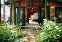 Landscaping cottage