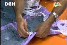reciclado con jeans