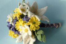 bouquet felt