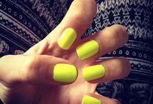 Modelos para uñas. / Diferentes maneras de decorarte las uñas.