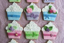 galletas decoradas cupcakes