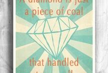 Words like jewels / Słowa jak klejnoty - pozytywna myśl na każdy dzień.
