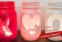DIY: porta-velas para o dia dos namorados