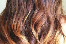 Hair, hair, hair and nail.