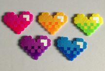 Valentijn strijkkralen patronen