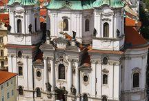 barokní architektura v praze