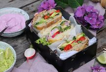 Streetfood Ideas / Avocado Sandwich