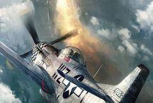 Airplanes, war, civil, etc