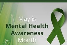 National Mental Health Awareness Month / Mental Illness affects 1 in 4 or nearly 60 million Americans every year. It's time to provide support, educate our peers and play our part.  Educate yourself and others about mental illness, recovery and prevention. Fight the stigma of this medical conditon.