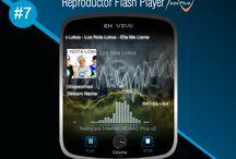 Reproductor Flash Player AACPlus #7 / Reproductor Flash Player AACPlus #7 Premium <CODE ORIGINAL> gratis, optimizado, ultra ligero. Para Transmitir su Radio por Internet en formato HE-AACPlus. www.surdatanet.net - www.moqueguahost.com - www.surdatacenter.com