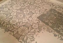 malowana podłoga/painted floor -Chalk Paint