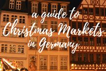 Christmas time | GERMANY / Christmas is a magical time in Germany (and across Europe) so visit a Christmas market and soak up that Christmas cheer with some mulled wine.