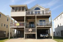 The Kiwi - Outer Banks Vacation Rental  / The Kiwi  - offered by Joe Lamb Jr. & Associates is a 6 bedroom vacation home close to the beach with a Private Pool ( open seasonally), Hot tub, and a Game Room. / by Joe Lamb, Jr.